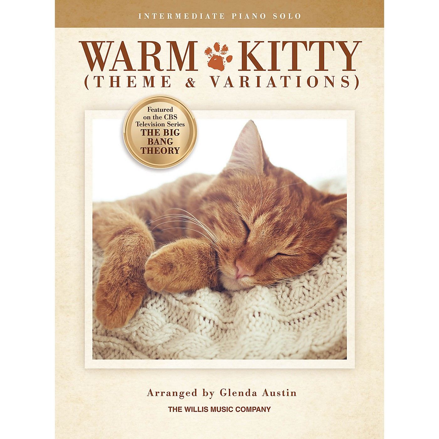Willis Music Warm Kitty (Theme and Variations) (Inter Level) Willis Series thumbnail