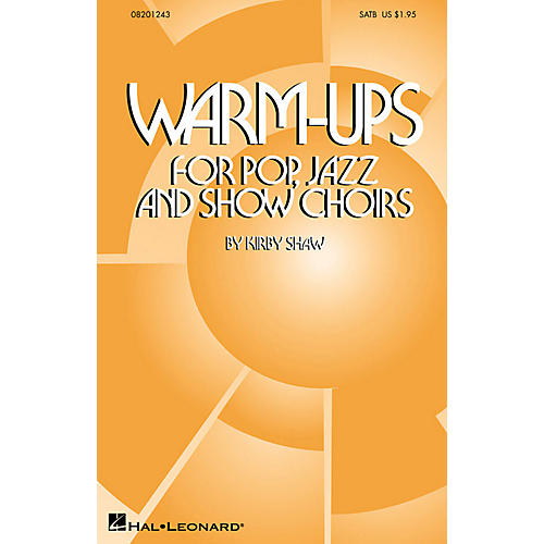 Hal Leonard Warm-Ups for Pop, Jazz and Show Choirs ShowTrax CD Composed by Kirby Shaw thumbnail