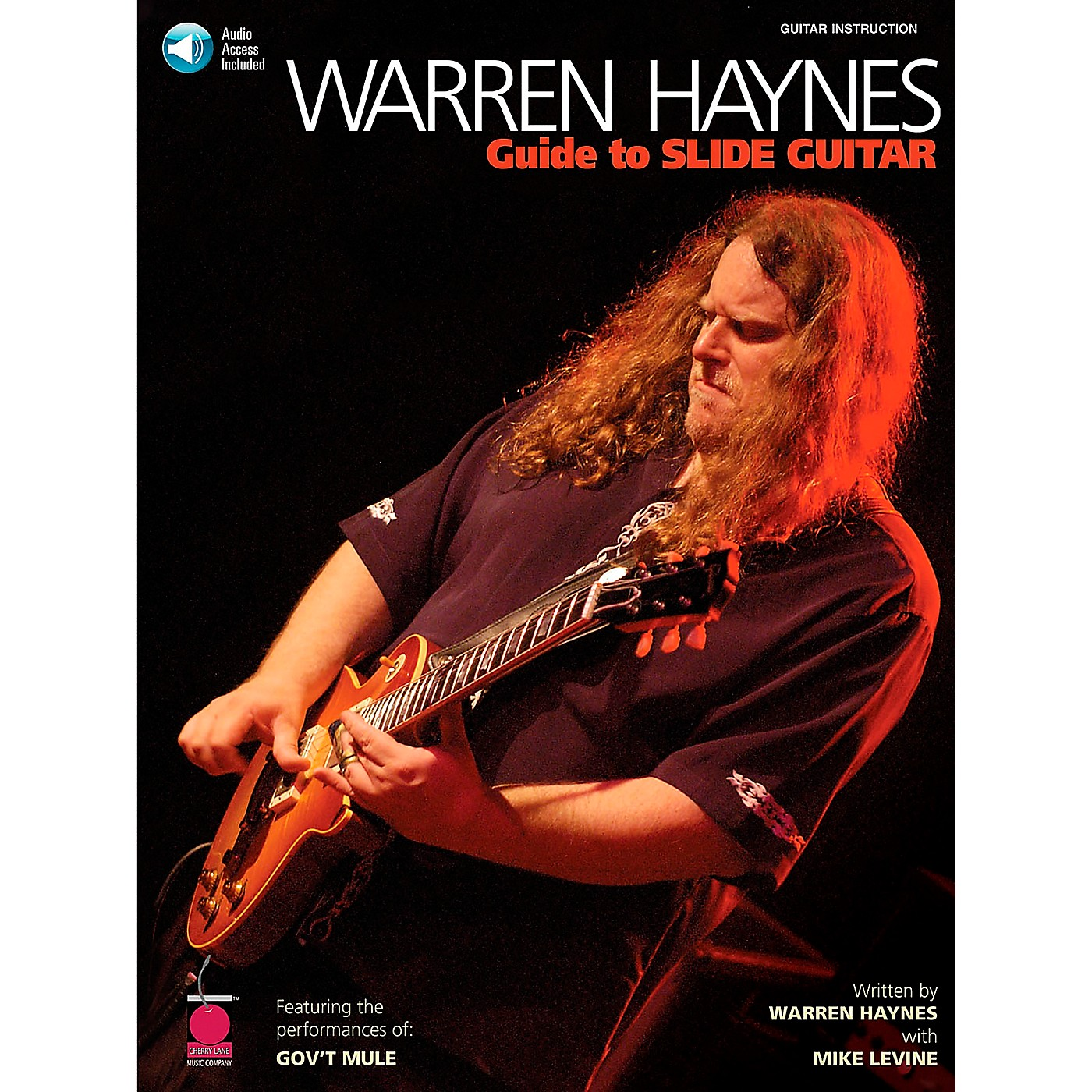 Cherry Lane Warren Haynes - Guide to Slide Guitar Book with Online Audio thumbnail