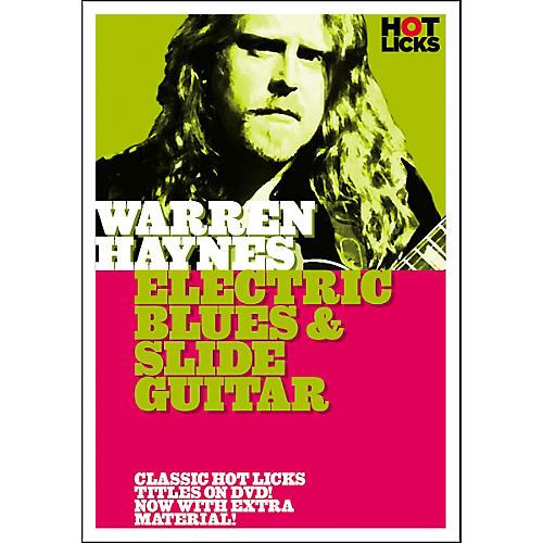Hot Licks Warren Haynes: Electric Blues and Slide Guitar DVD thumbnail