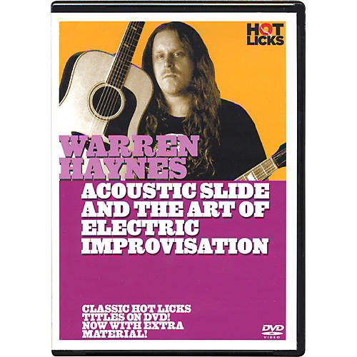 Hot Licks Warren Haynes Electric Slide and the Art Of Improvisation DVD-thumbnail