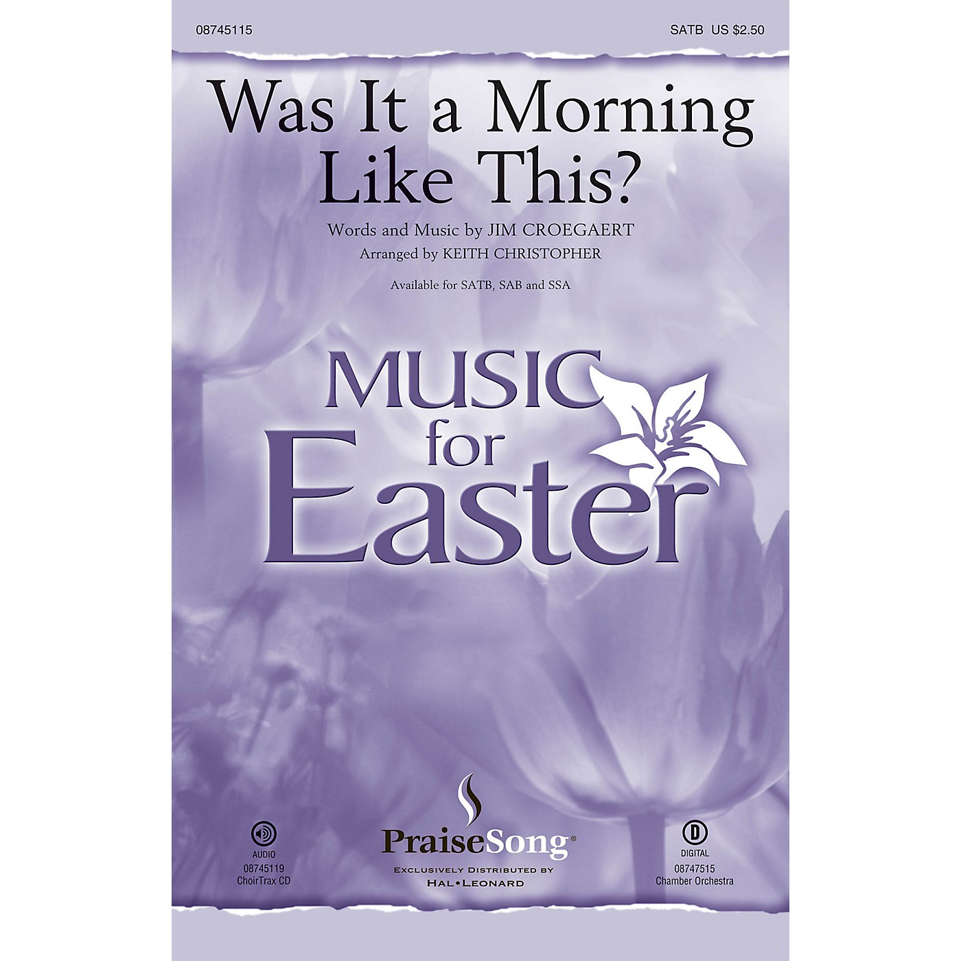 PraiseSong Was It a Morning Like This? CHOIRTRAX CD by Sandi Patty Arranged by Keith Christopher thumbnail