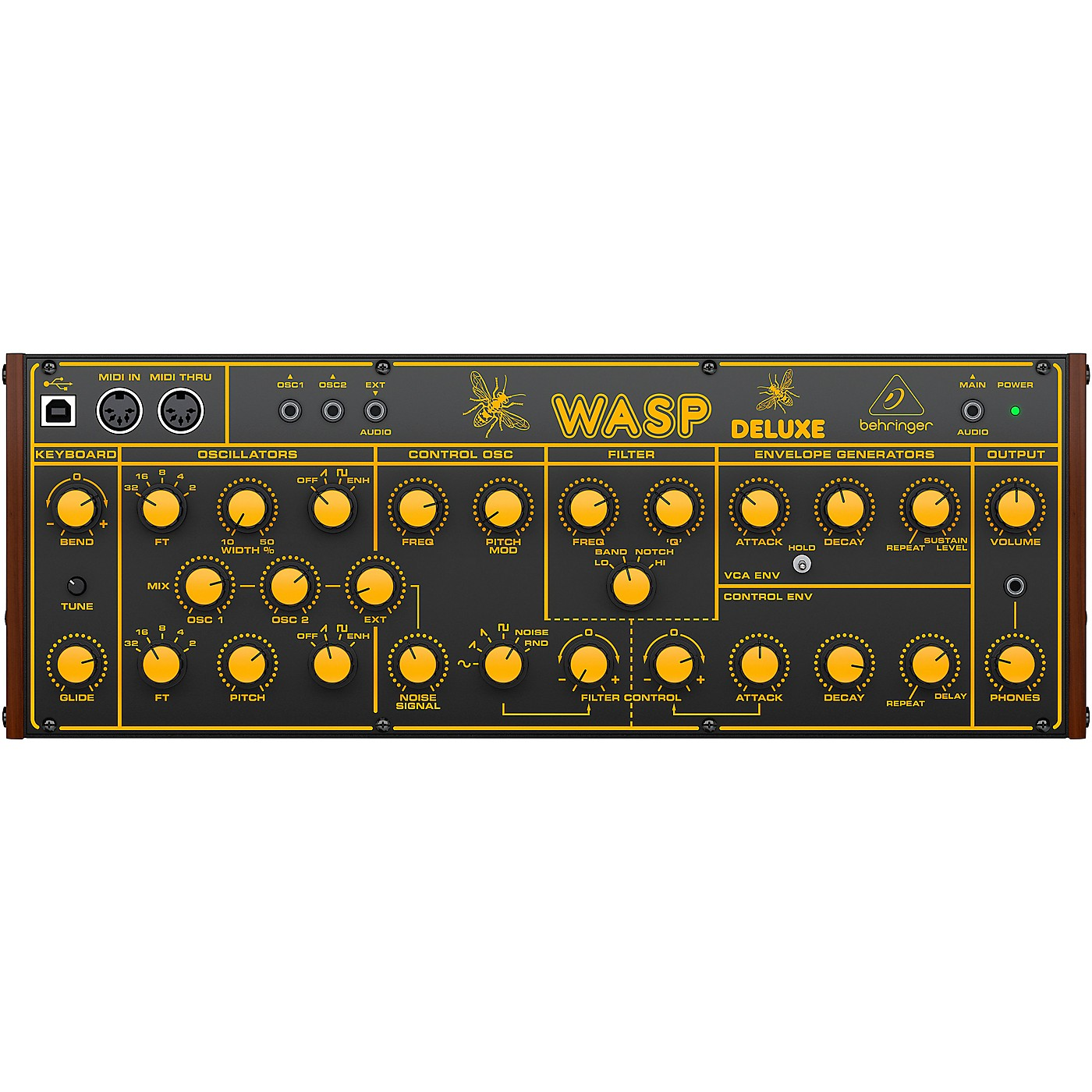 Behringer Wasp Deluxe Analog Synthesizer thumbnail