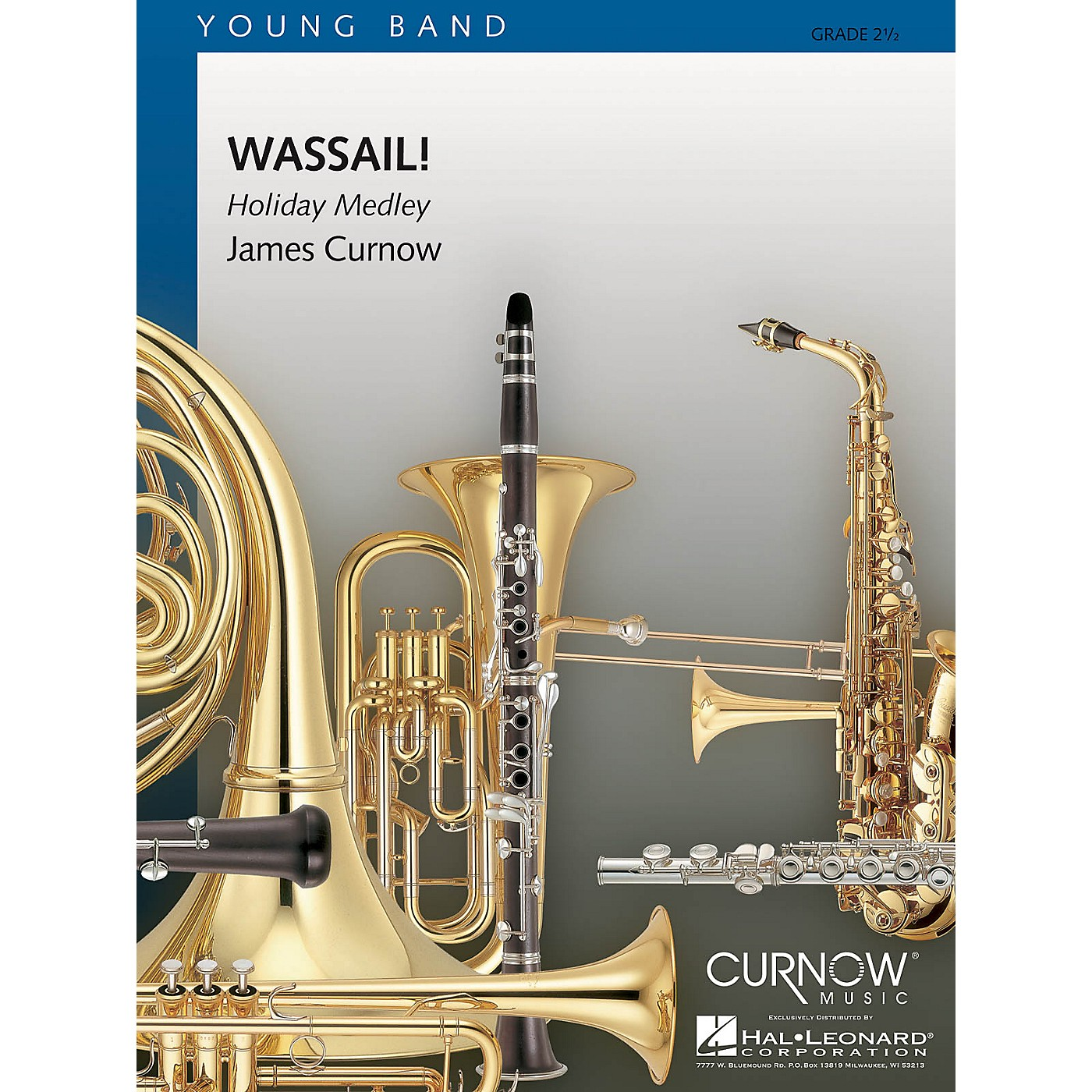 Curnow Music Wassail! (Grade 2 - Score Only) Concert Band Level 2 Arranged by James Curnow thumbnail
