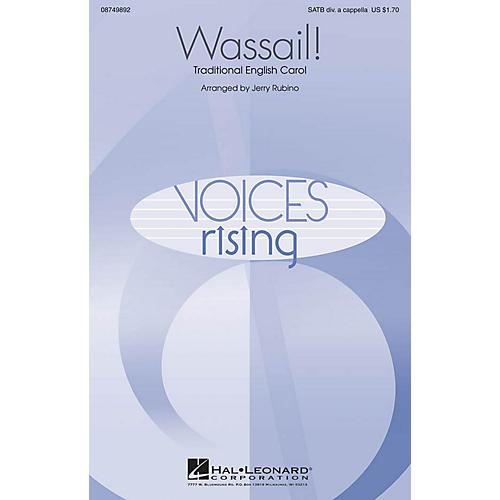 Hal Leonard Wassail! SATB DV A Cappella arranged by Jerry Rubino thumbnail