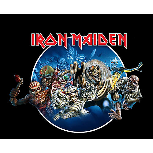 Iron Maiden Wasted Years T-Shirt thumbnail