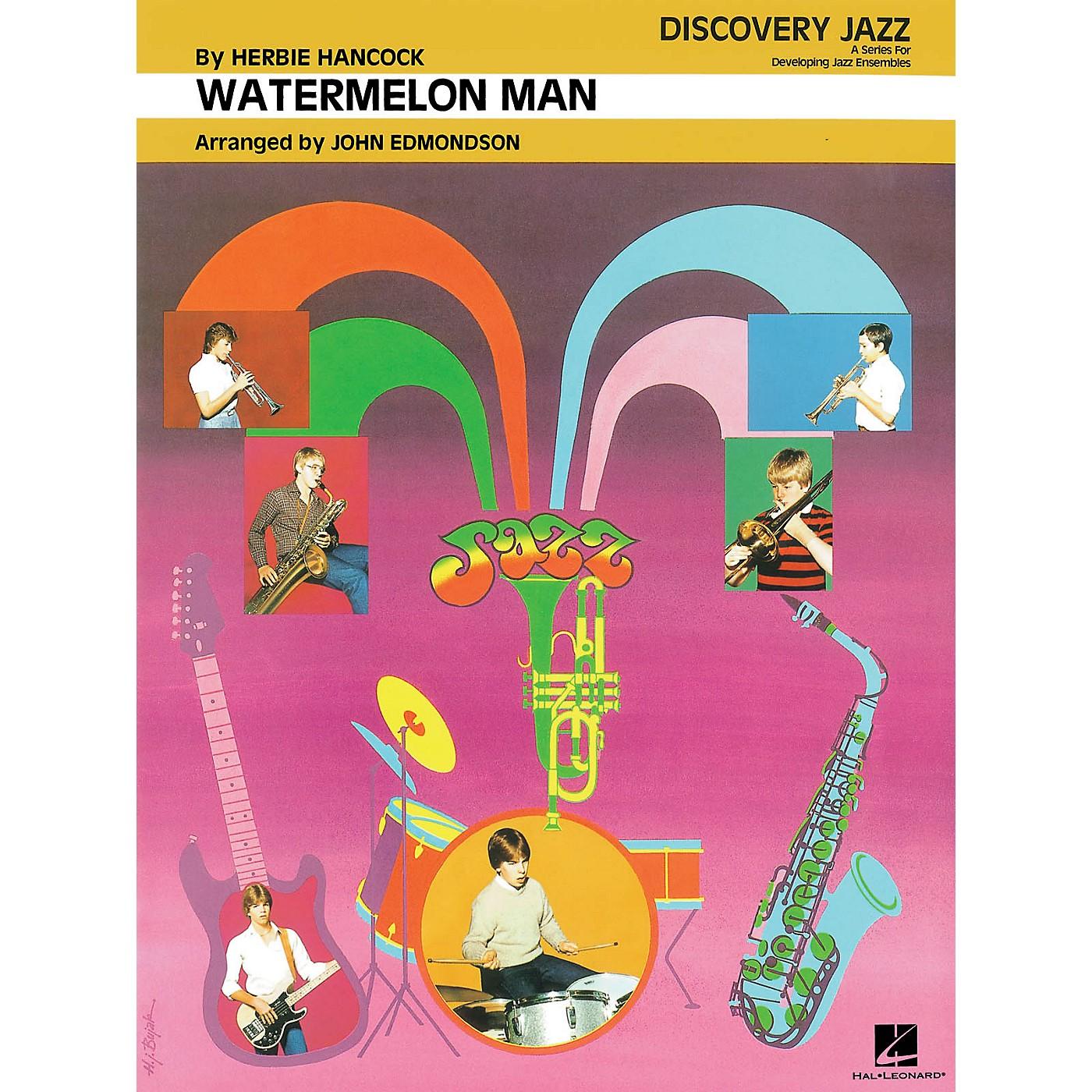 Hal Leonard Watermelon Man Jazz Band Level 1-2 by Herbie Hancock Arranged by John Edmondson thumbnail