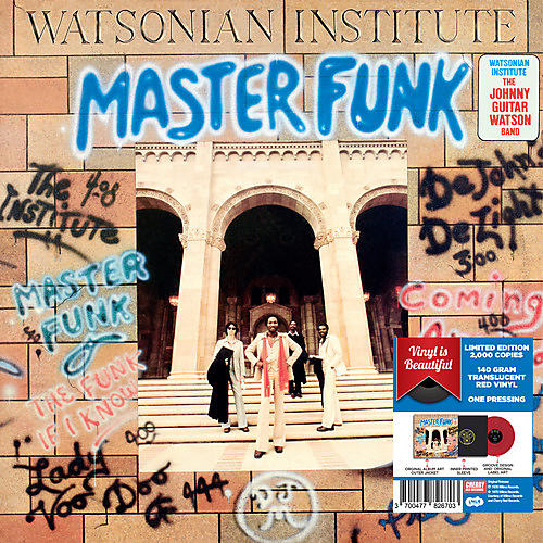 Alliance Watsonian Institute - Master Funk - Red Vinyl 2017 Limited Edition thumbnail