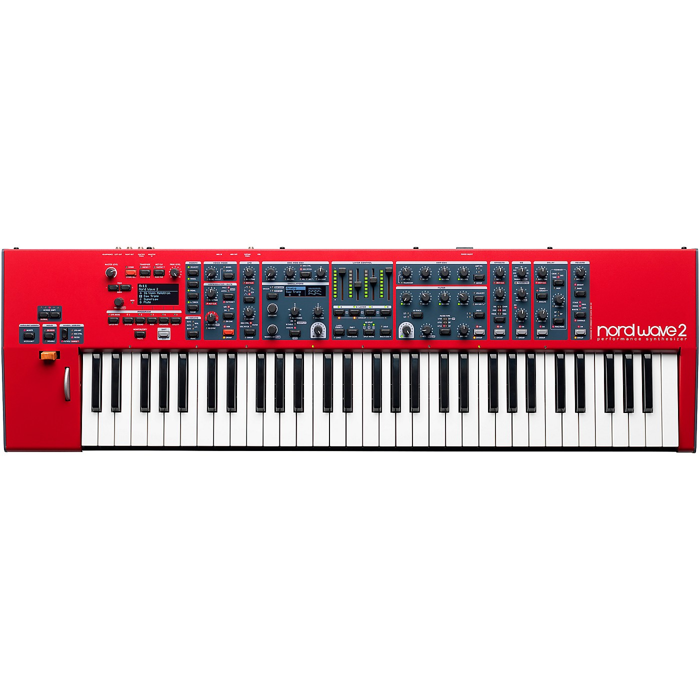 Nord Wave 2 61-Key Performance Synthesizer thumbnail