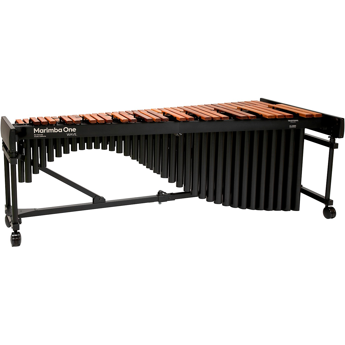 Marimba One Wave #9601 A442 5.0 Octave Marimba with Traditional Keyboard and Classic Resonators 4