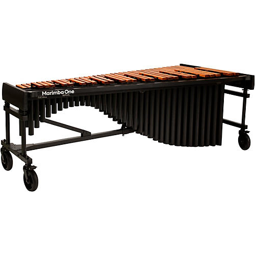 Marimba One Wave #9614 A440 5.0 Octave Marimba with Traditional Keyboard and Basso Bravo Resonators 8