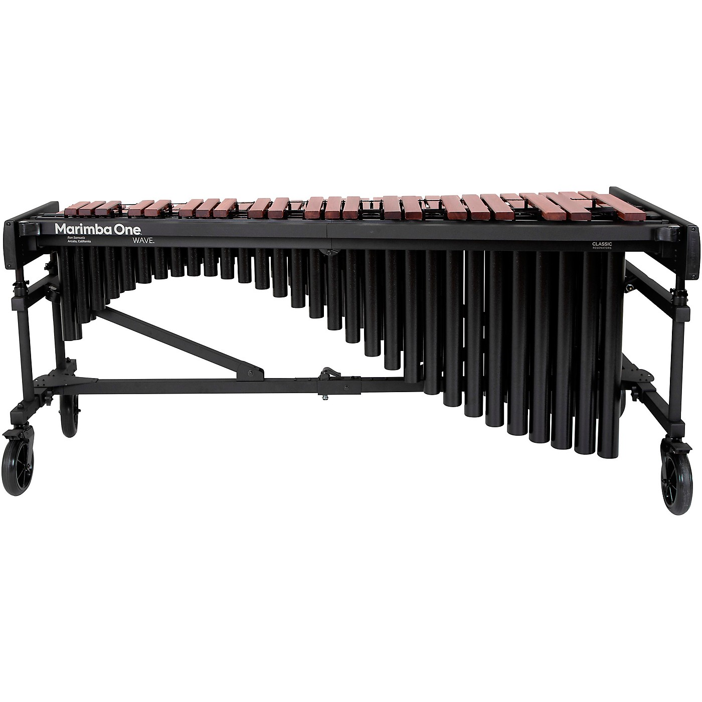 Marimba One Wave #9632 A442 4.3 Octave Marimba with Enhanced Keyboard and Classic Resonators thumbnail