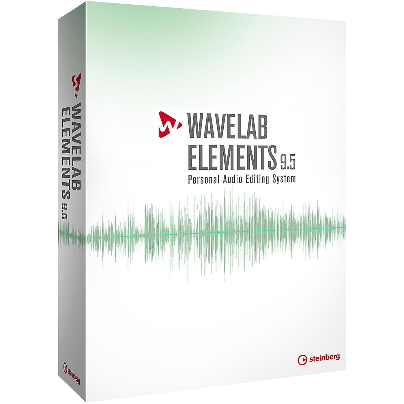Steinberg WaveLab Elements 9.5 Upgrade from WaveLab LE 7,8,9,9.5 thumbnail
