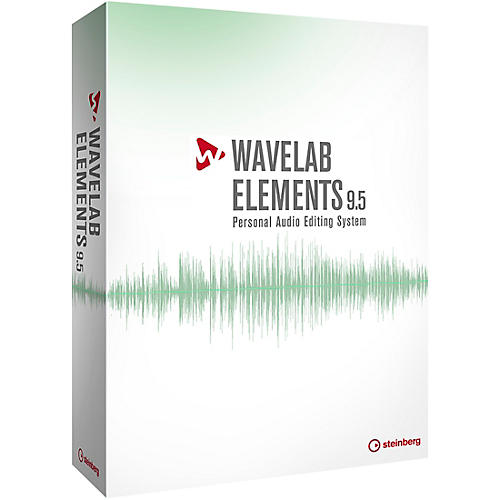 Steinberg WaveLab Elements 9.5 Upgrade from WaveLab LE 7,8,9,9.5 thumbnail