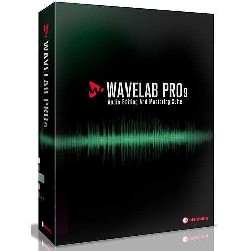 Steinberg WaveLab Pro 9 Upgrade from WaveLab Elements 7/8/9 thumbnail