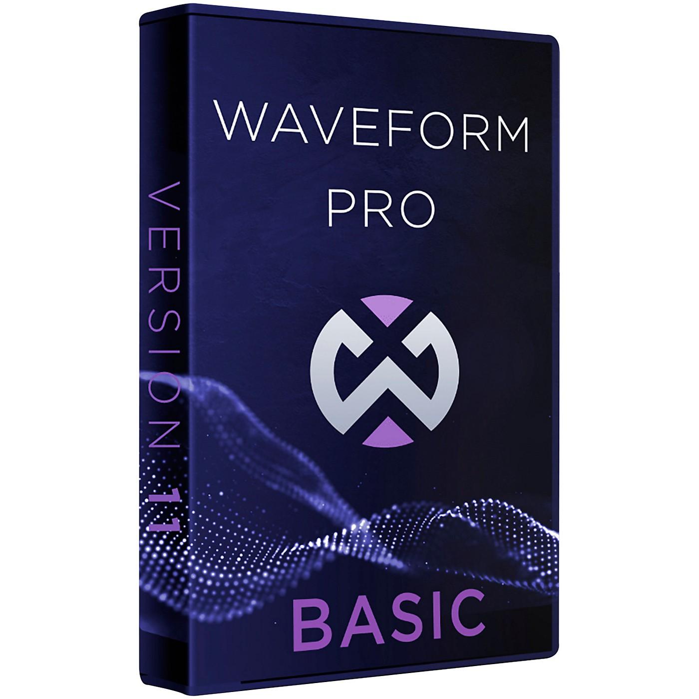 Tracktion Waveform Pro 11 Basic (Download) thumbnail