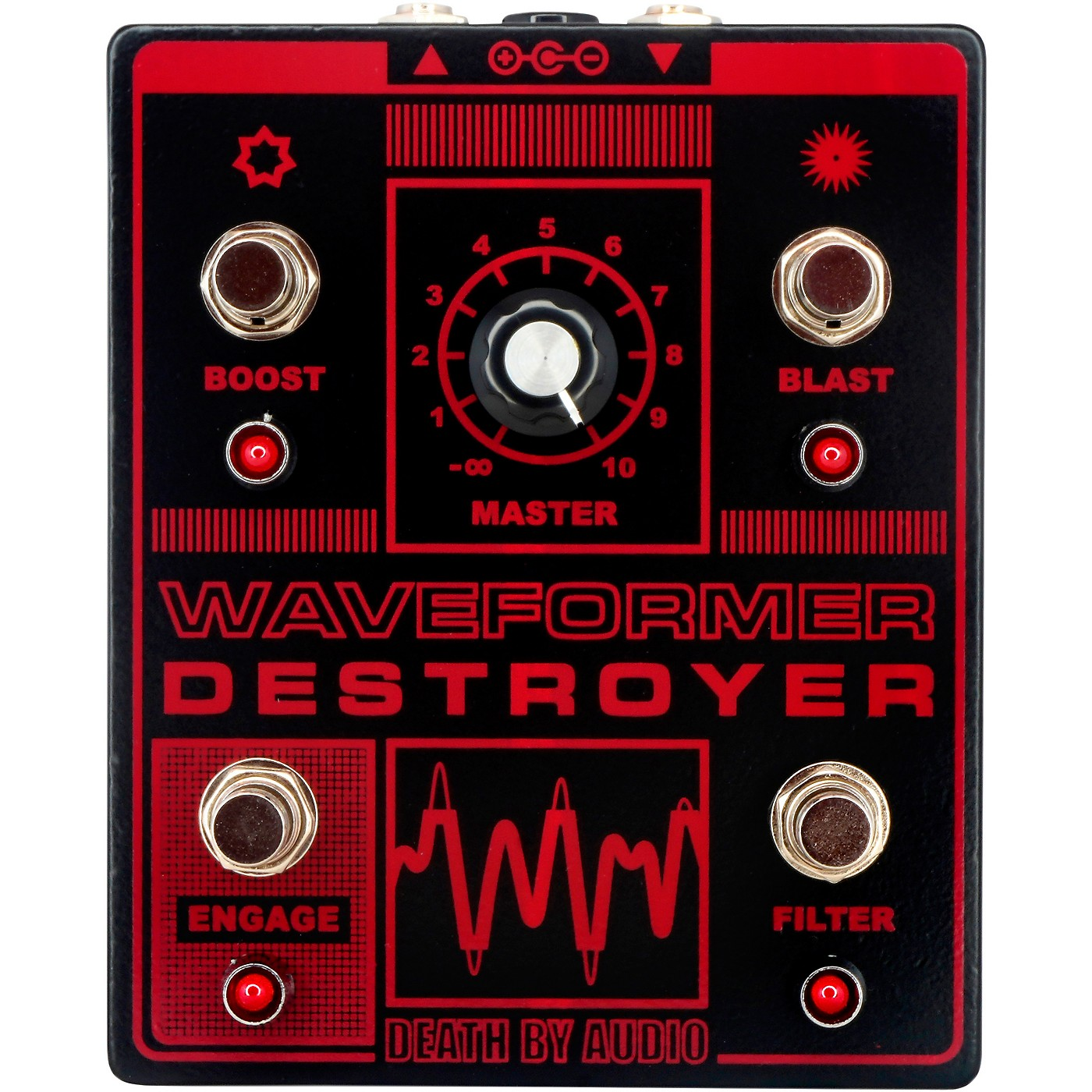 DEATH BY AUDIO Waveformer Destroyer Multi-channel Fuzz Effects Pedal thumbnail