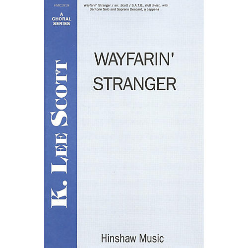 Hinshaw Music Wayfarin' Stranger SSAATTBB arranged by K. Lee Scott thumbnail