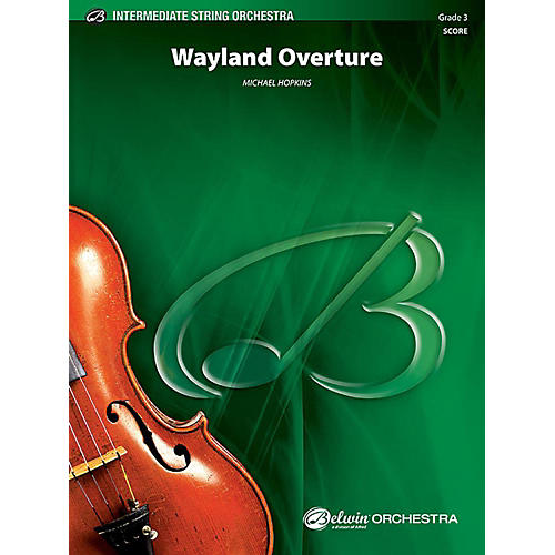 Alfred Wayland Overture String Orchestra Grade 3 Set thumbnail