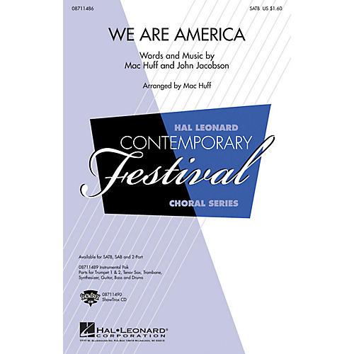 Hal Leonard We Are America ShowTrax CD Arranged by Mac Huff thumbnail
