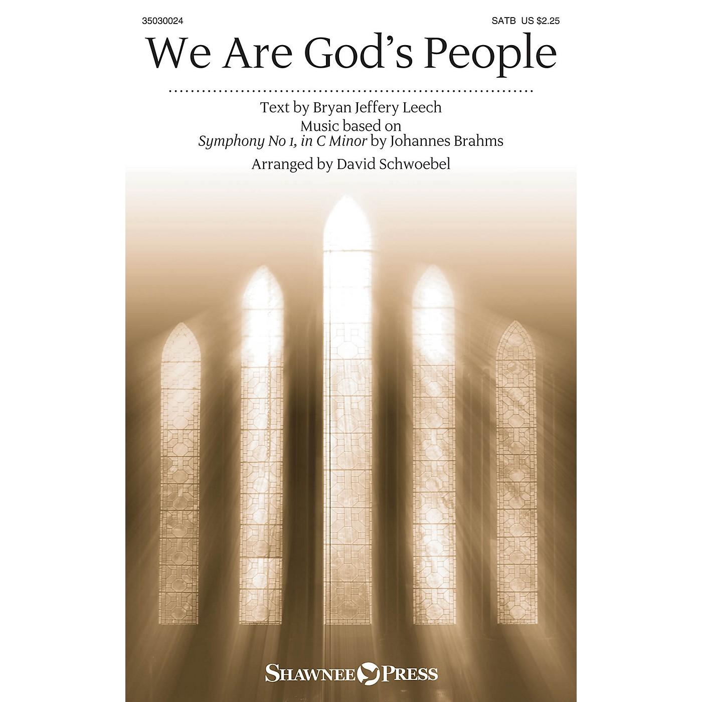 Shawnee Press We Are God's People SATB arranged by David Schwoebel thumbnail