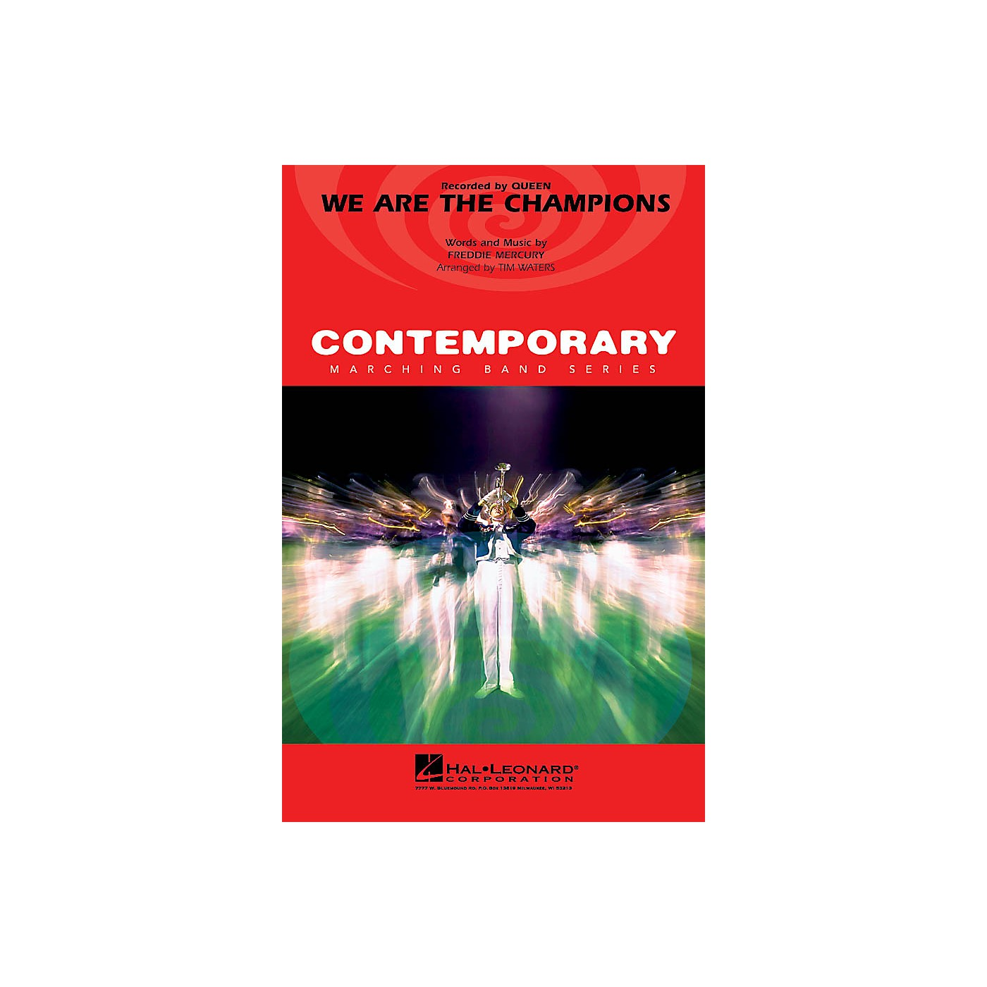 Hal Leonard We Are the Champions Marching Band Level 3-4 by Queen Arranged by Tim Waters thumbnail