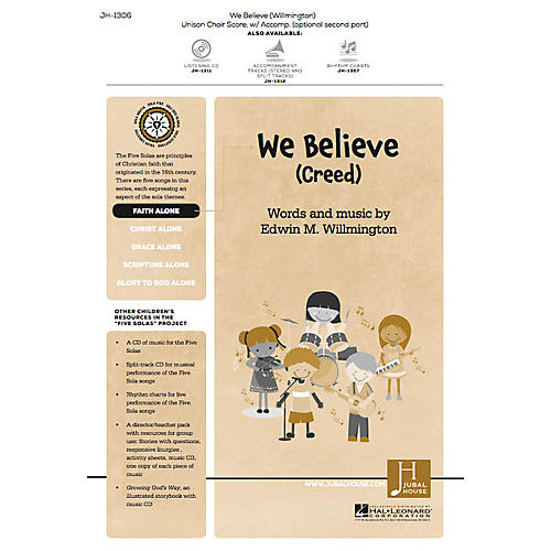Jubal House Publications We Believe (Creed) (from The Five Solas) UNIS/2PT composed by Edwin M. Willmington thumbnail