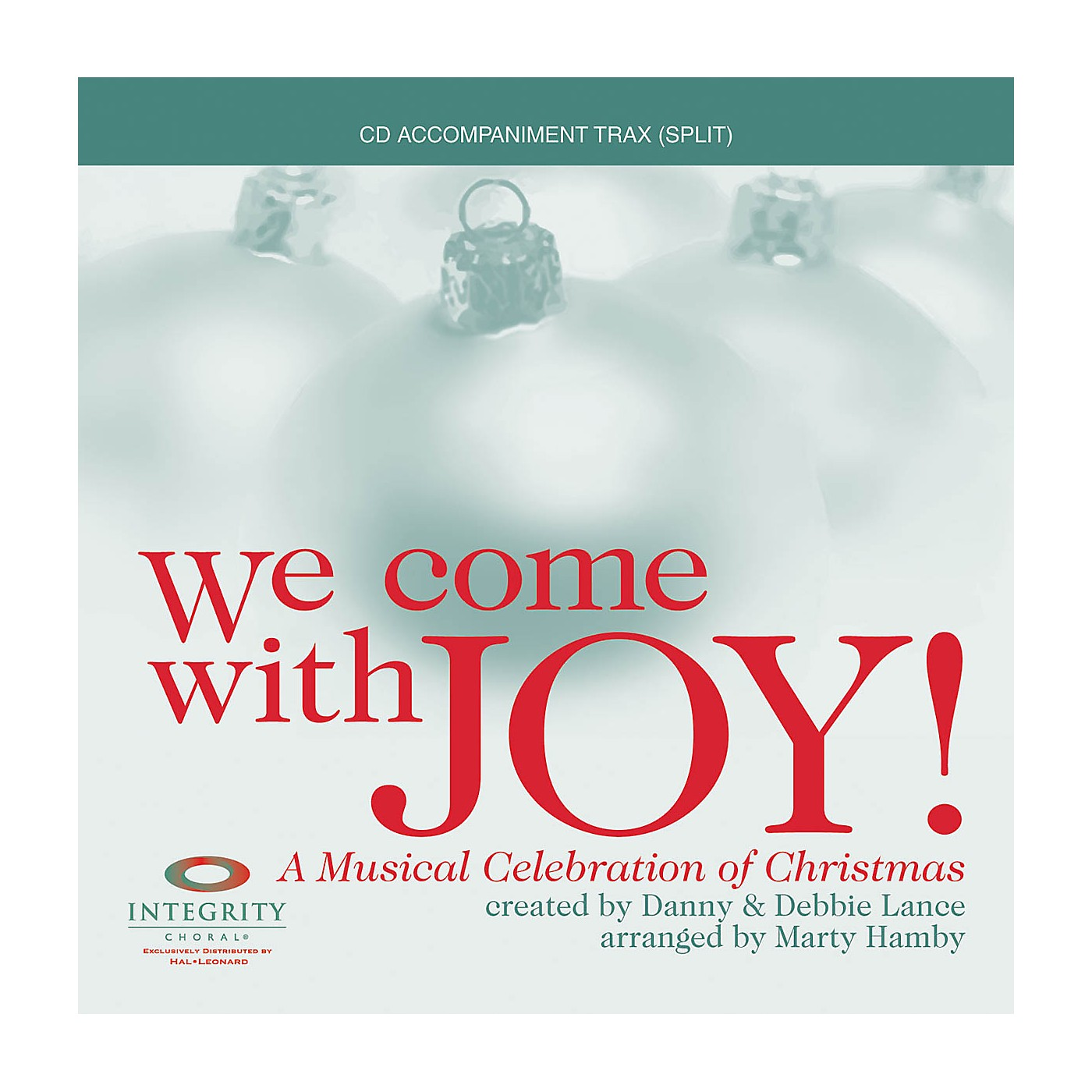 Integrity Choral We Come with Joy (A Musical Celebration of Christmas) Accompaniment CD Arranged by Marty Hamby thumbnail