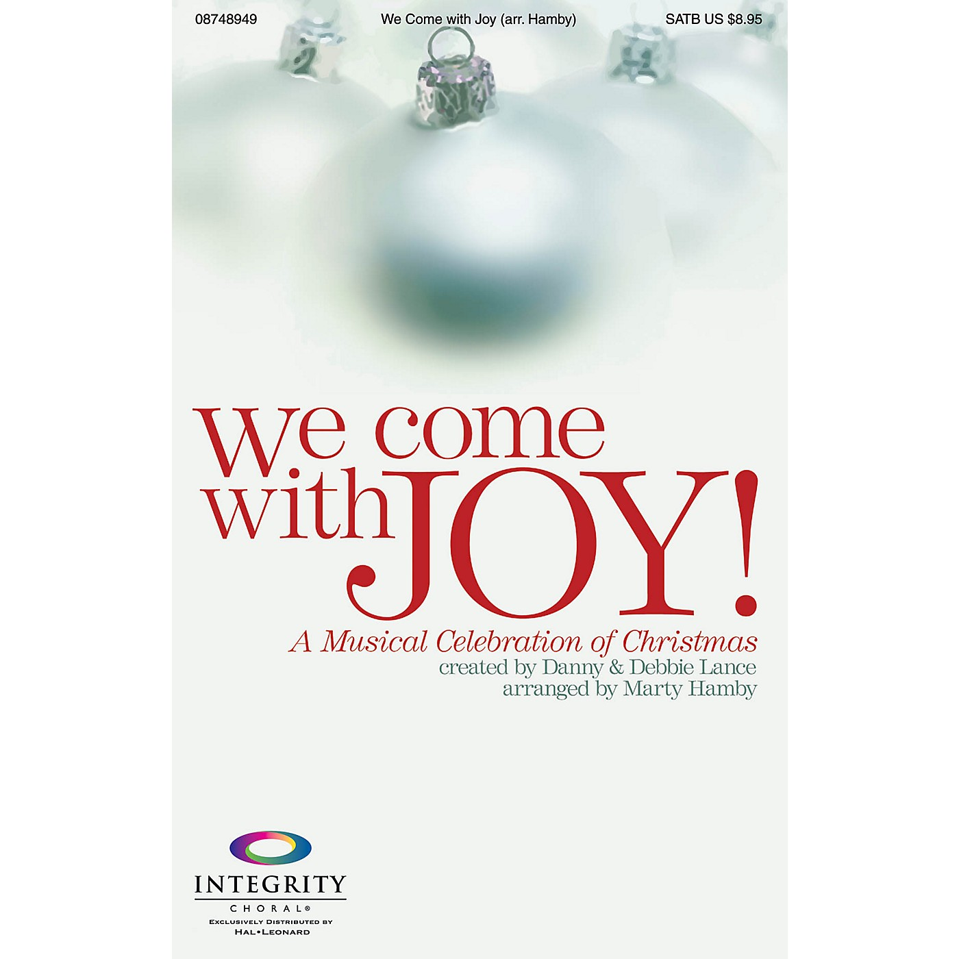 Integrity Choral We Come with Joy (A Musical Celebration of Christmas) SATB Arranged by Marty Hamby thumbnail