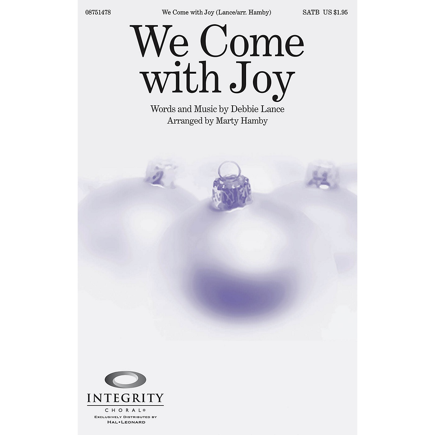 Integrity Choral We Come with Joy ORCHESTRA ACCOMPANIMENT Arranged by Marty Hamby thumbnail