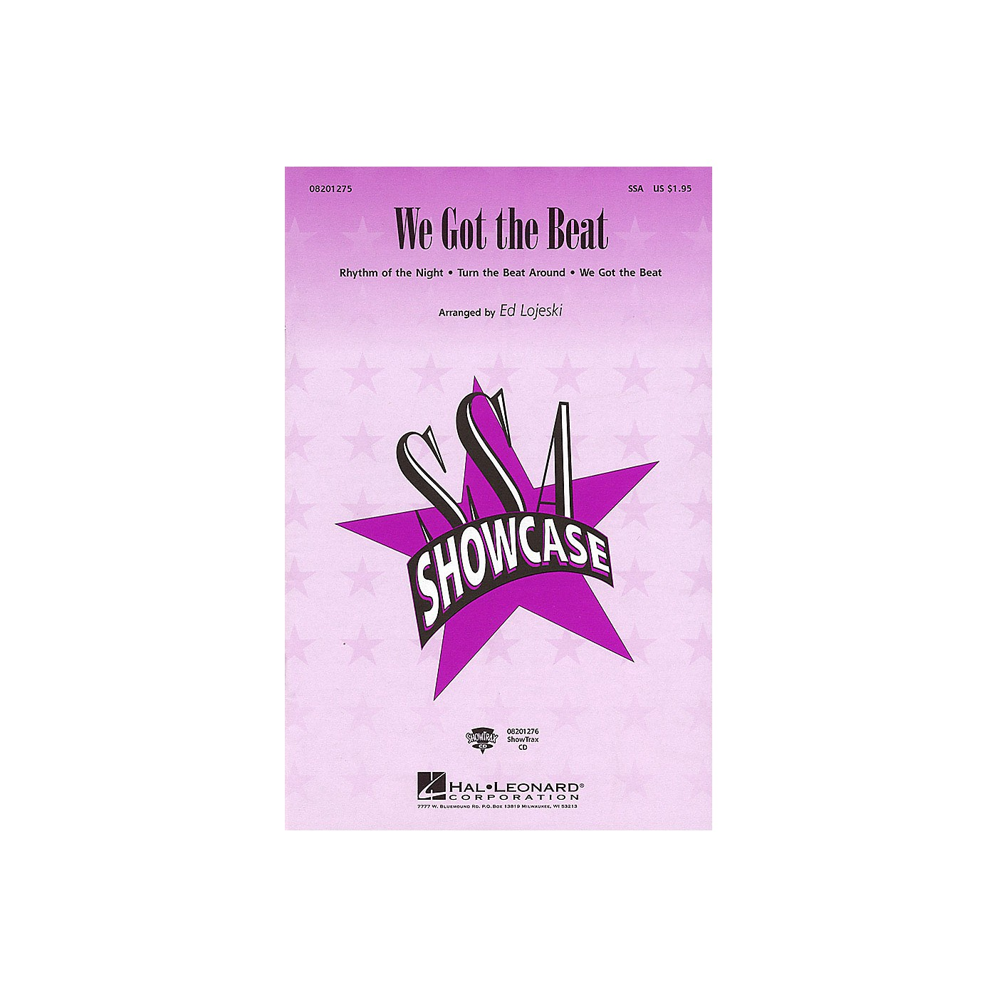 Hal Leonard We Got the Beat (Medley) ShowTrax CD Arranged by Ed Lojeski thumbnail