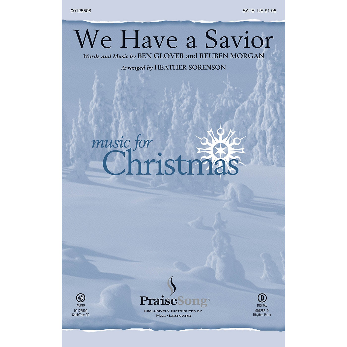 PraiseSong We Have a Savior SATB by Hillsong arranged by Heather Sorenson thumbnail