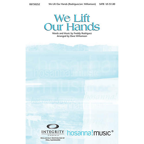 Integrity Choral We Lift Our Hands CD ACCOMP Arranged by Dave Williamson thumbnail