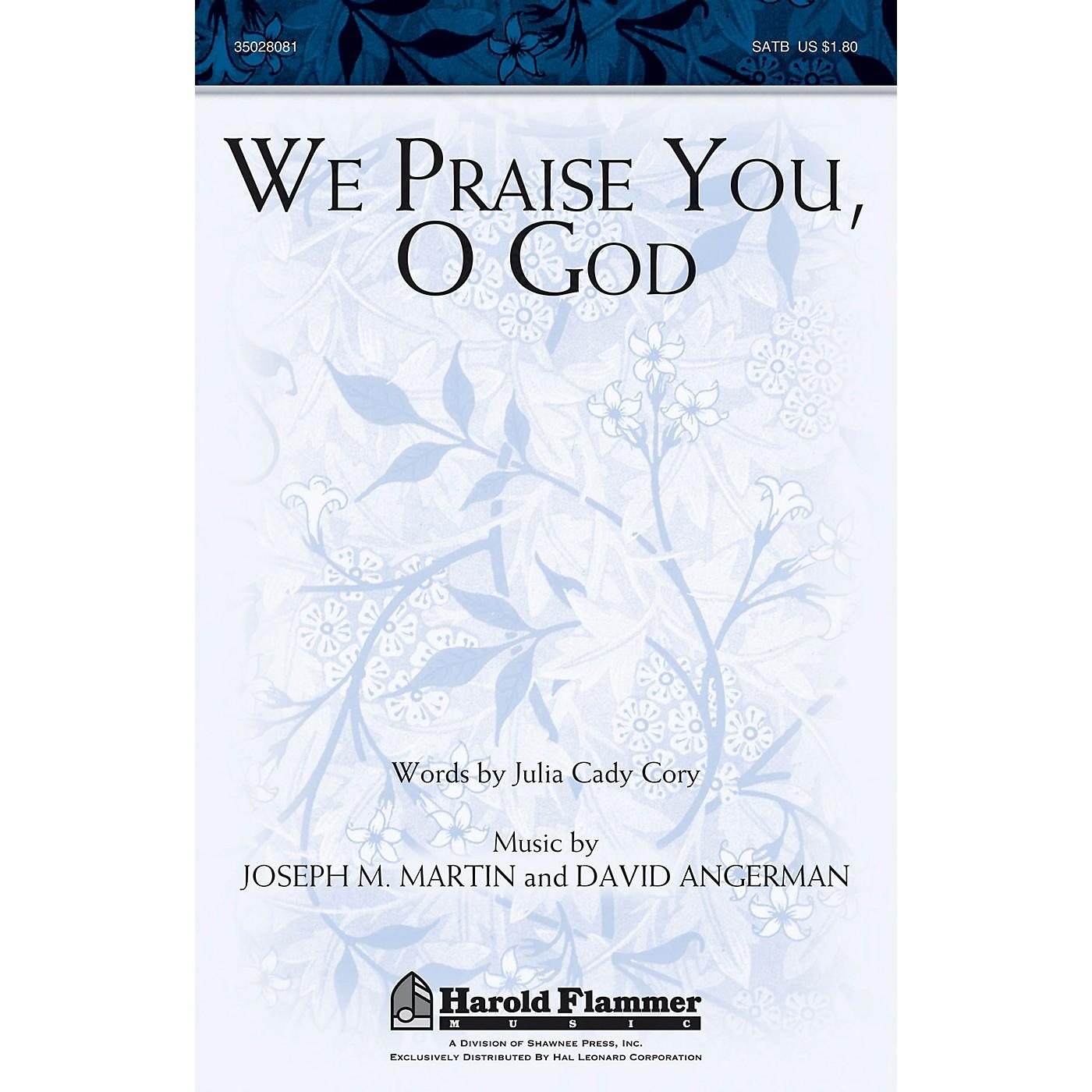 Shawnee Press We Praise You, O God SATB composed by Joseph M. Martin thumbnail