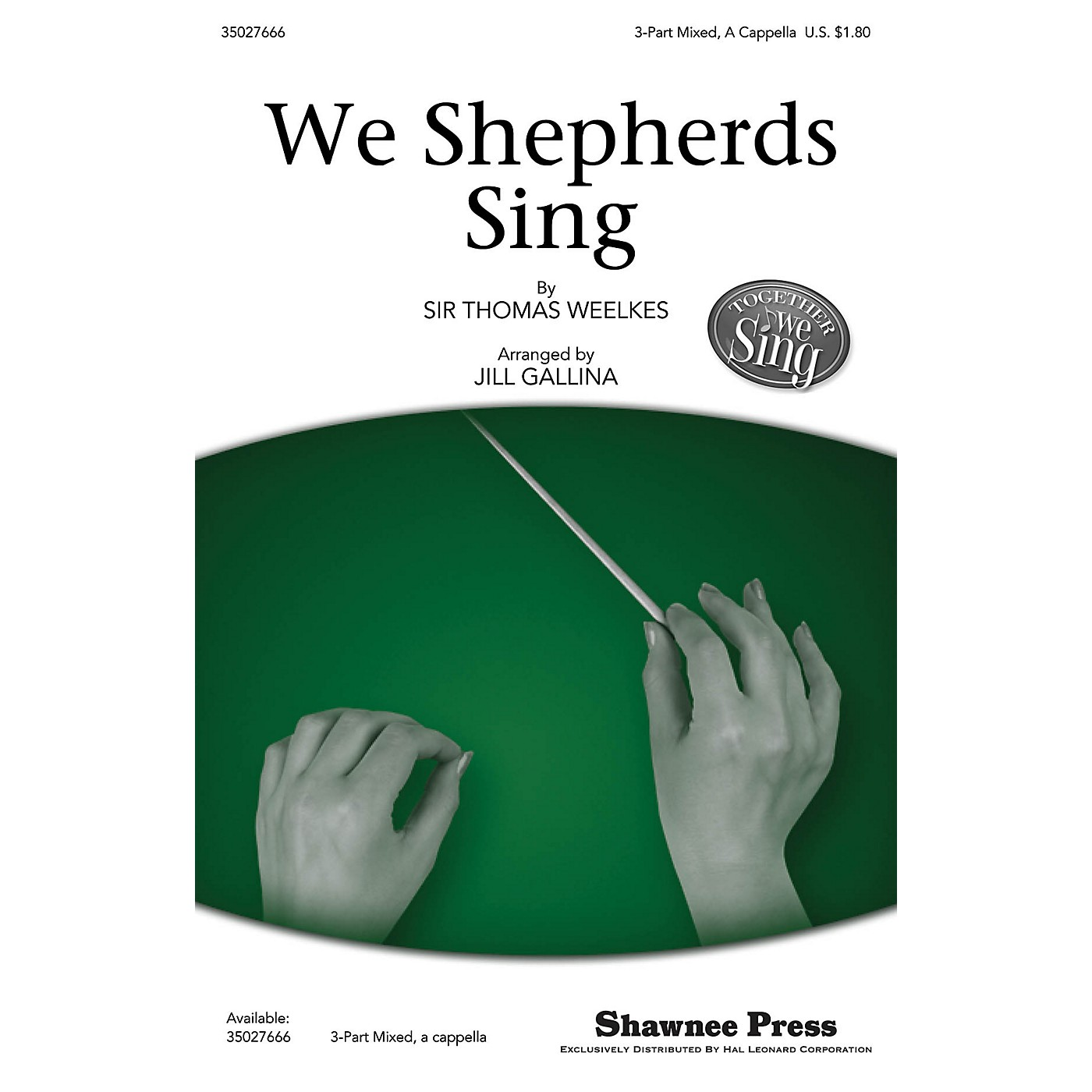 Shawnee Press We Shepherds Sing (Together We Sing Series) 3-Part Mixed opt. a cappella arranged by Jill Gallina thumbnail