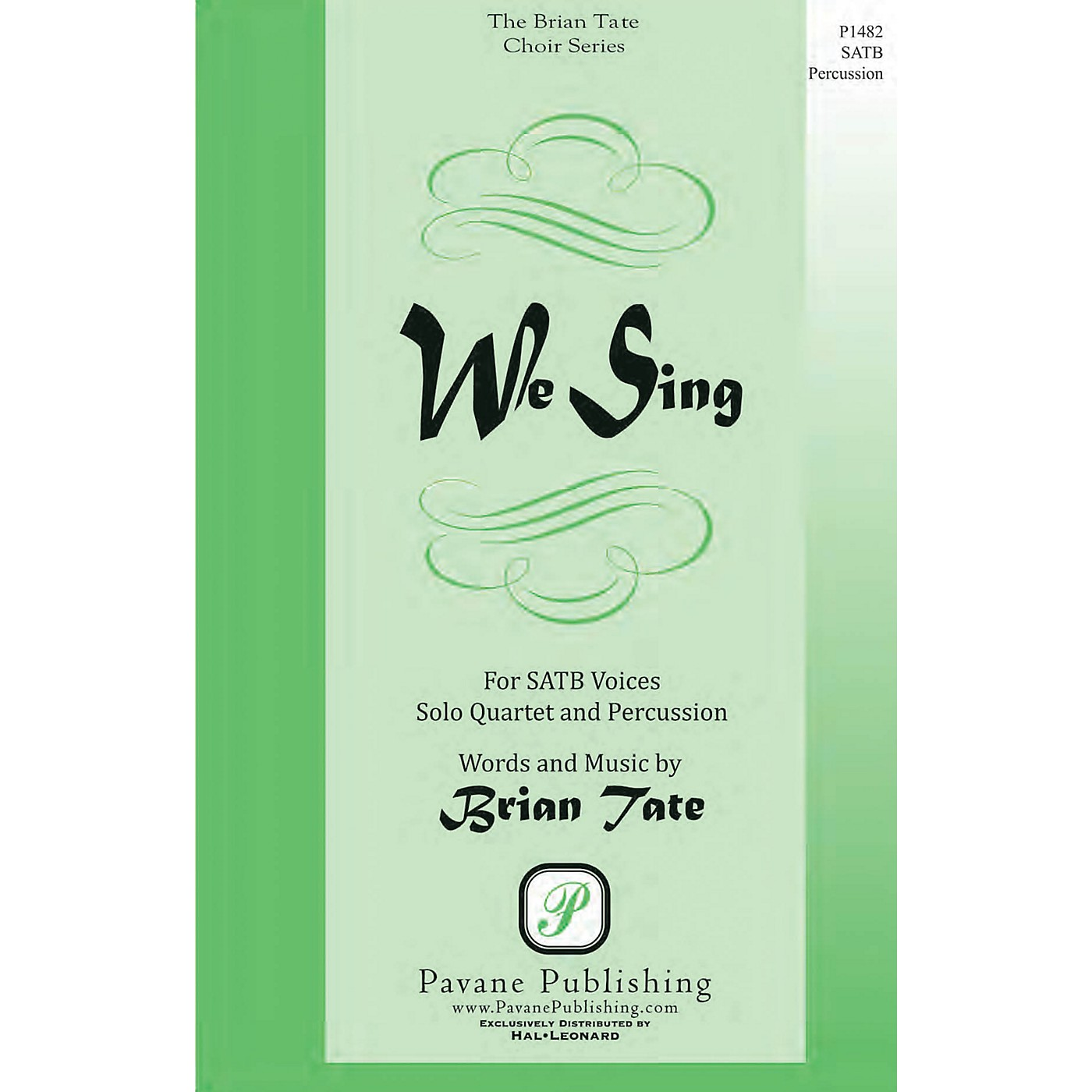 Pavane We Sing SATB composed by Brian Tate thumbnail