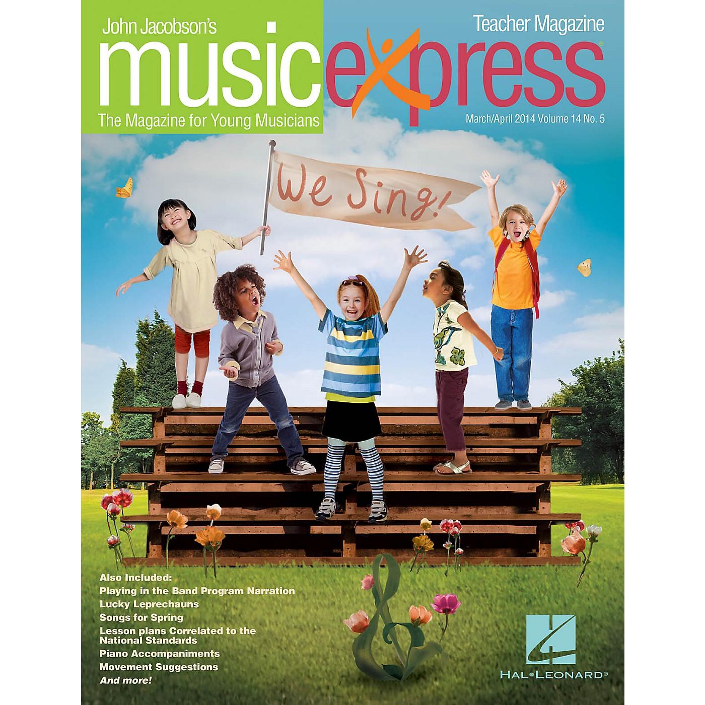 Hal Leonard We Sing! Vol. 14 No. 5 Teacher Magazine w/CD by The Beach Boys Arranged by Roger Emerson thumbnail