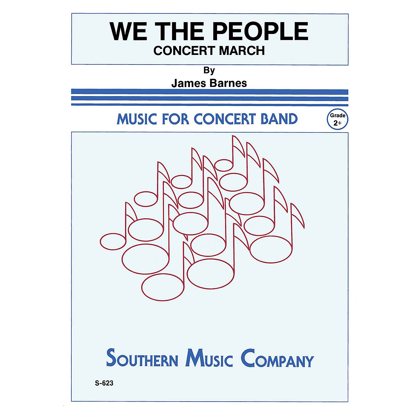Southern We, The People Concert Band Level 2 Composed by James Barnes thumbnail