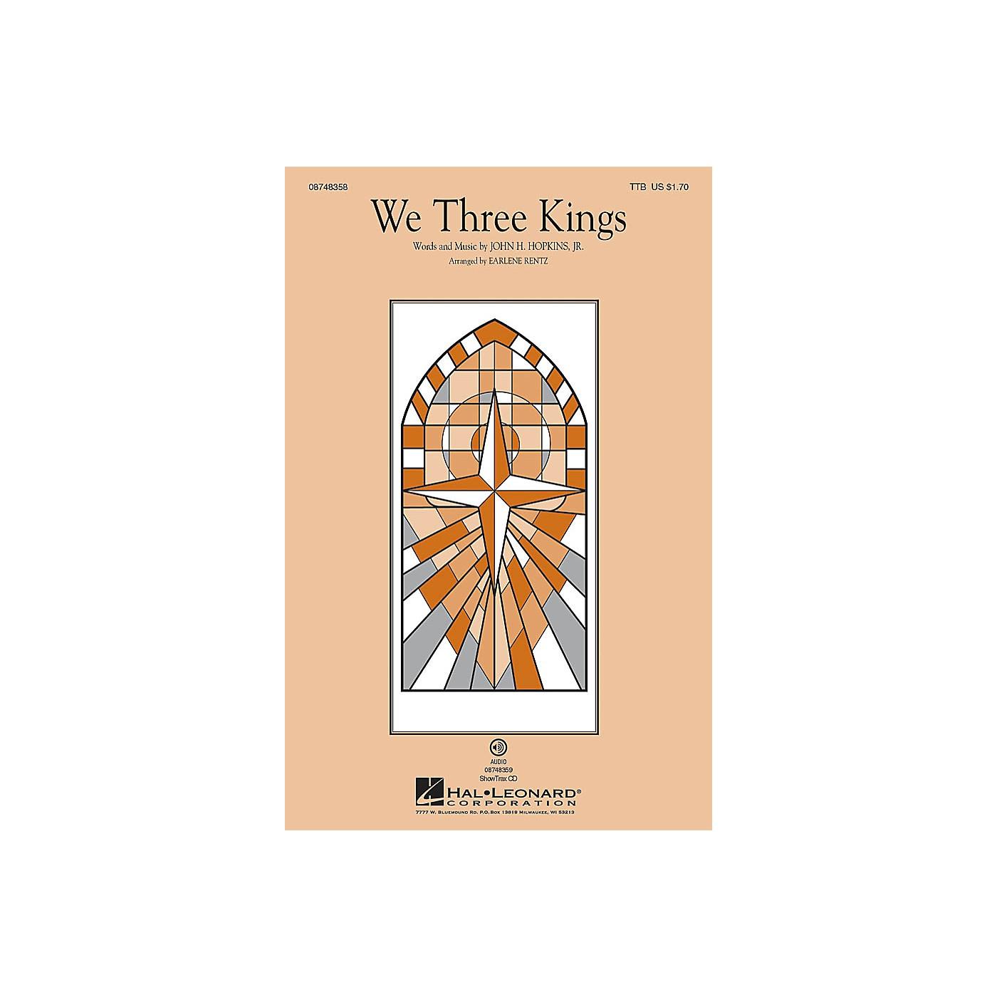 Hal Leonard We Three Kings ShowTrax CD Arranged by Earlene Rentz thumbnail