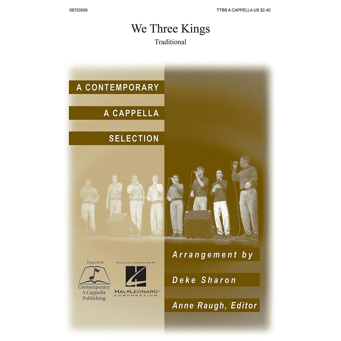 Contemporary A Cappella Publishing We Three Kings TTBB A Cappella arranged by Deke Sharon thumbnail