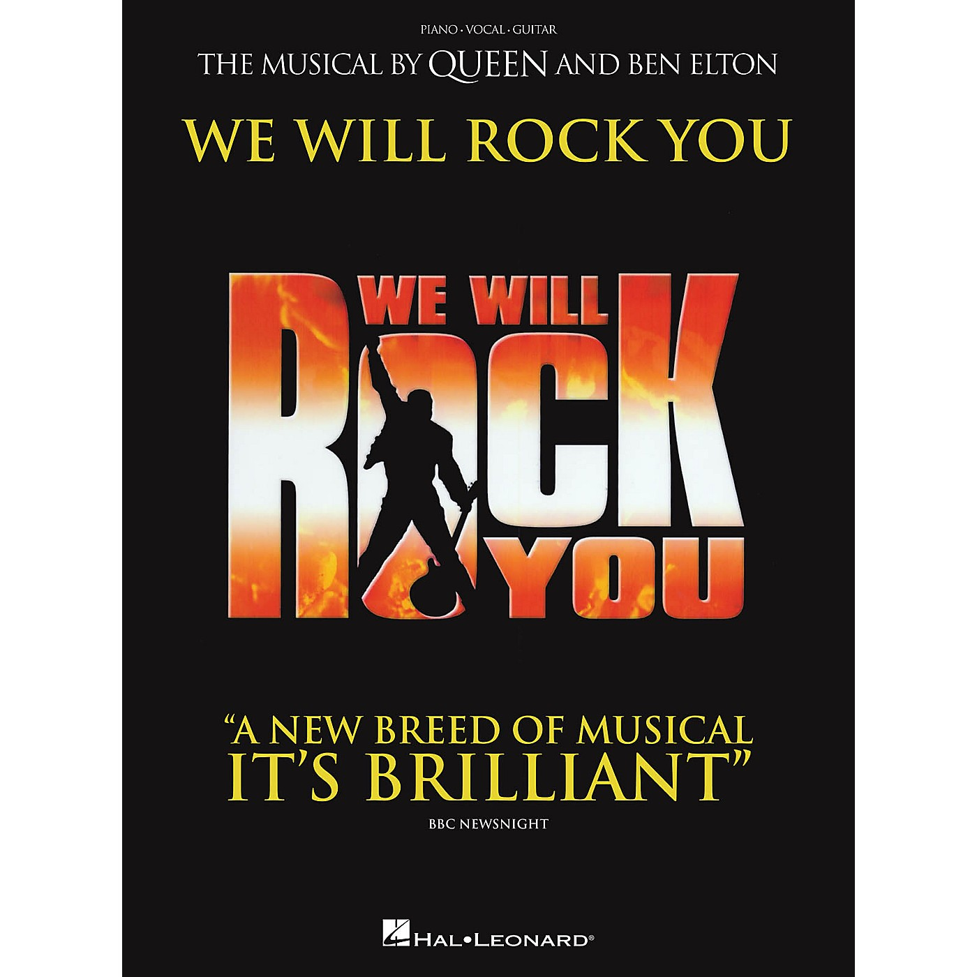 Hal Leonard We Will Rock You (The Musical by Queen and Ben Elton) Vocal Selections thumbnail