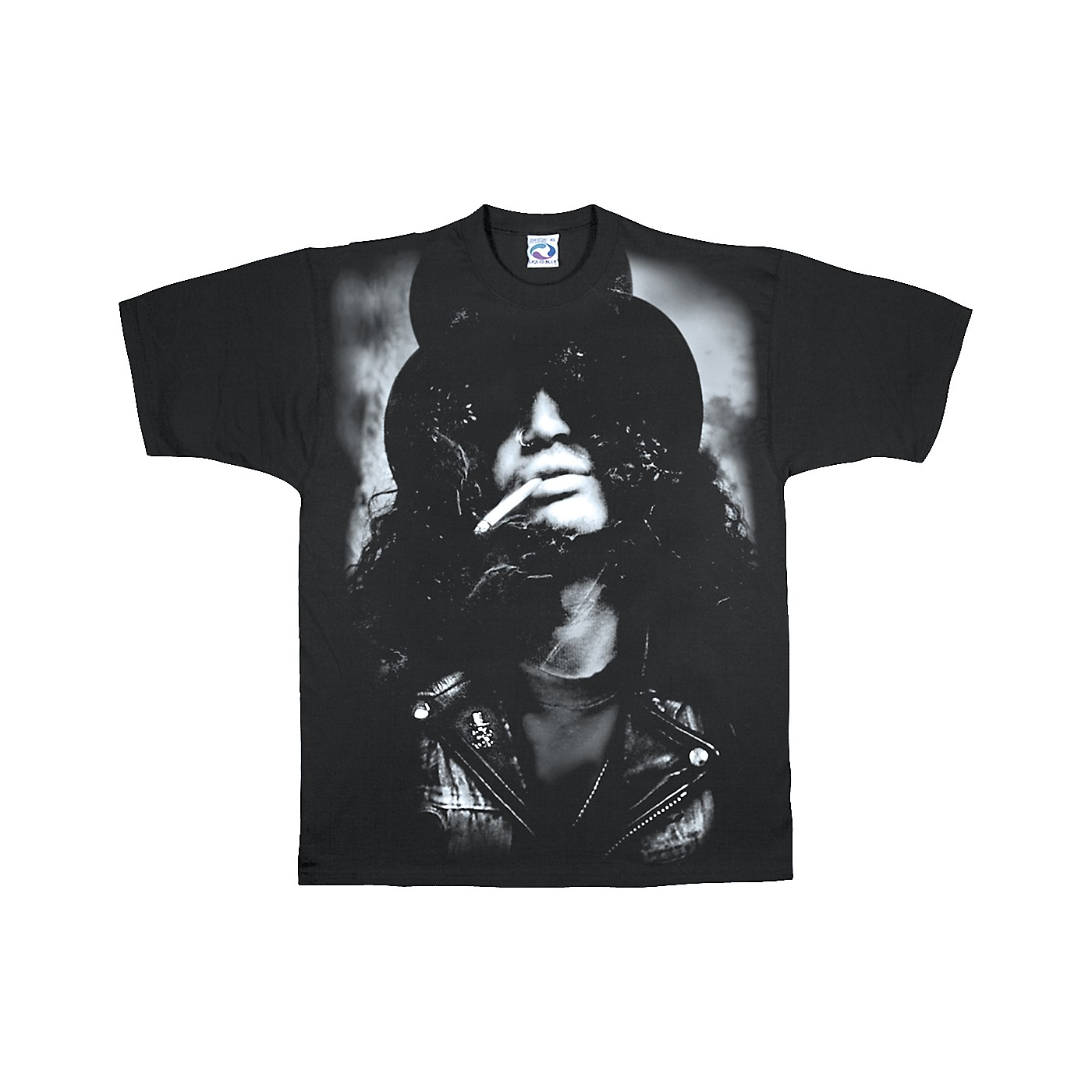 Slash Wearing Top Hat T-Shirt thumbnail