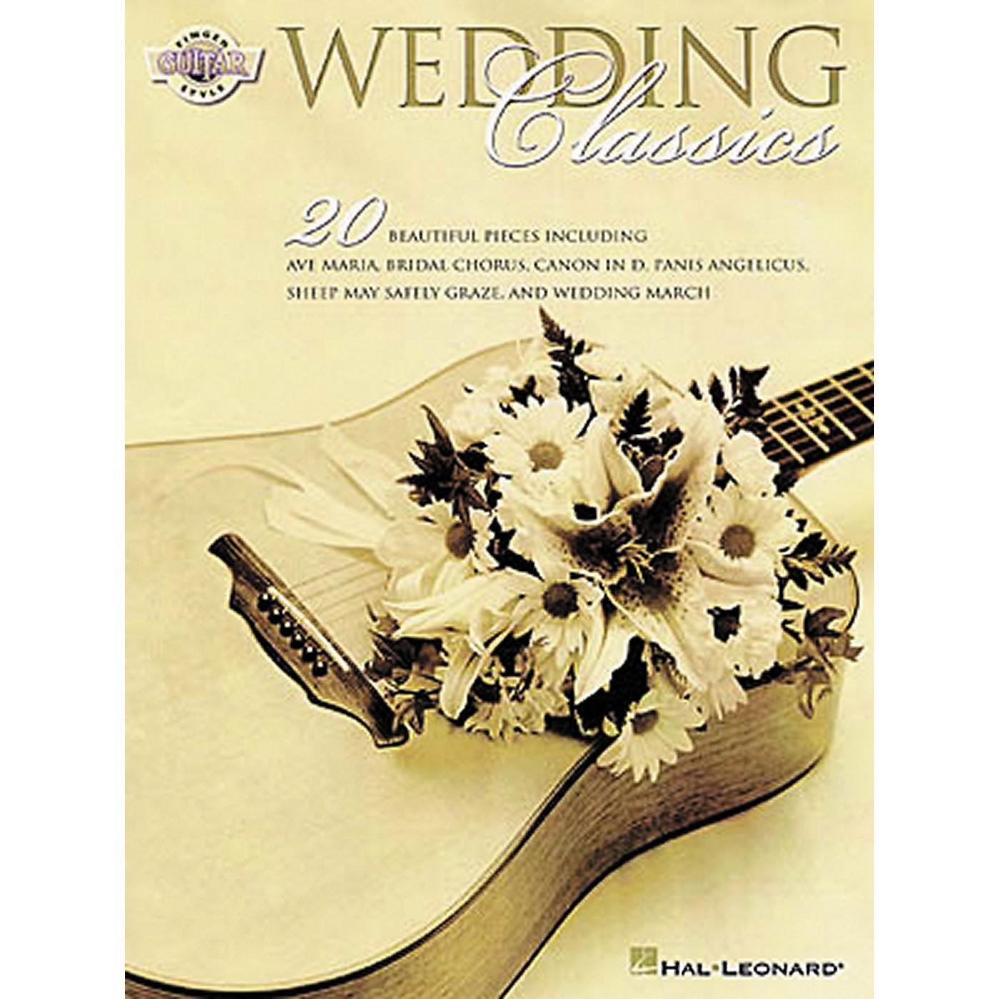 Hal Leonard Wedding Classics Guitar Tab Songbook thumbnail