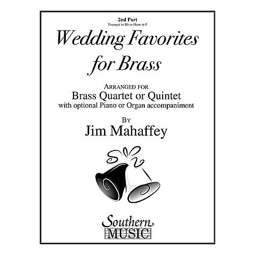 Southern Wedding Favorites for Brass (Part 2 - Trumpet/Horn) Southern Music Series Arranged by Jim Mahaffey thumbnail