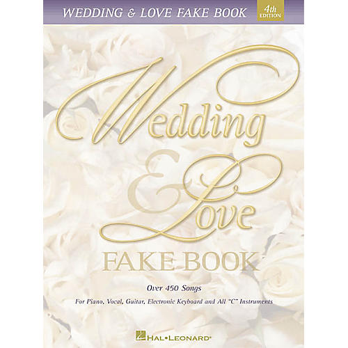 Hal Leonard Wedding & Love Fake Book 5th Edition-thumbnail