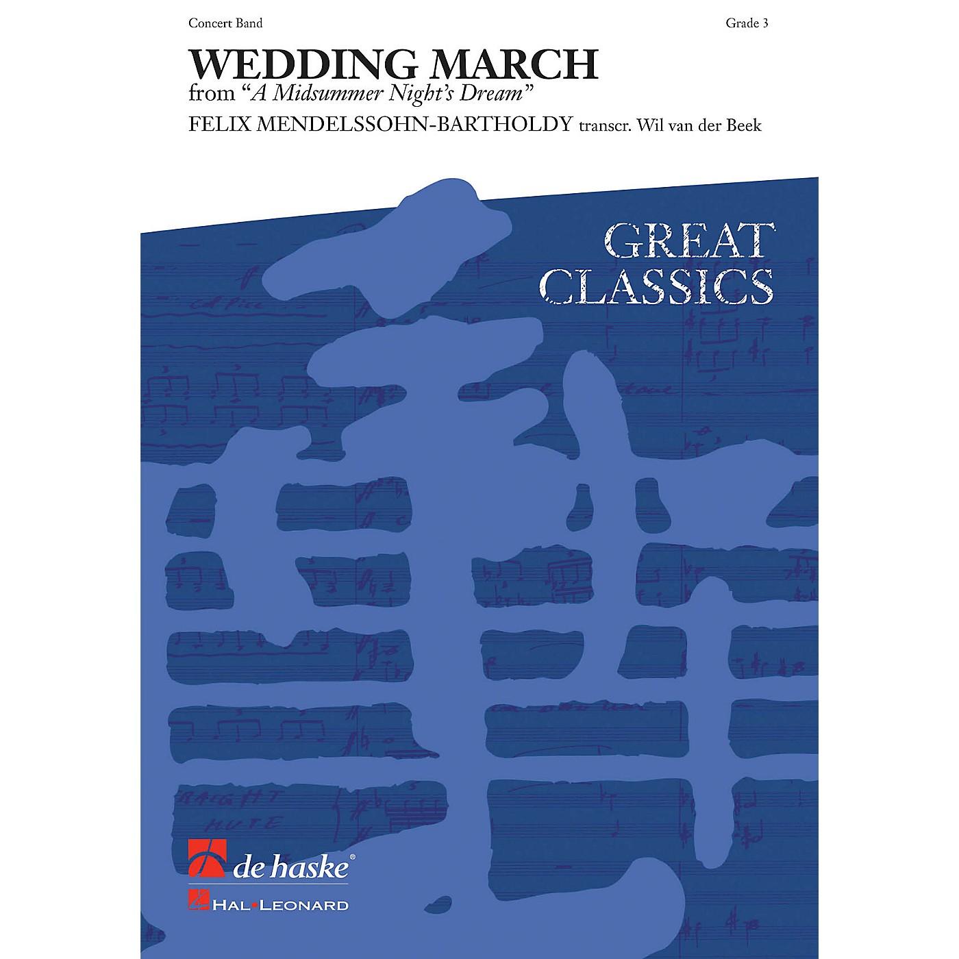 De Haske Music Wedding March (from A Midsummer's Night Dream) (Score and Parts) Concert Band by Felix Mendelssohn thumbnail