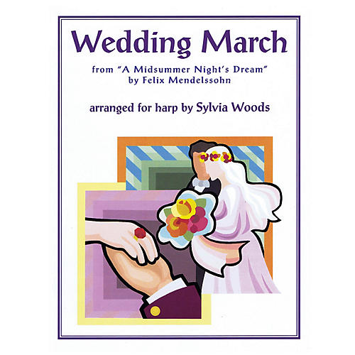 Hal Leonard Wedding March from A Midsummer's Night Dream (for Harp) Harp Series Softcover thumbnail