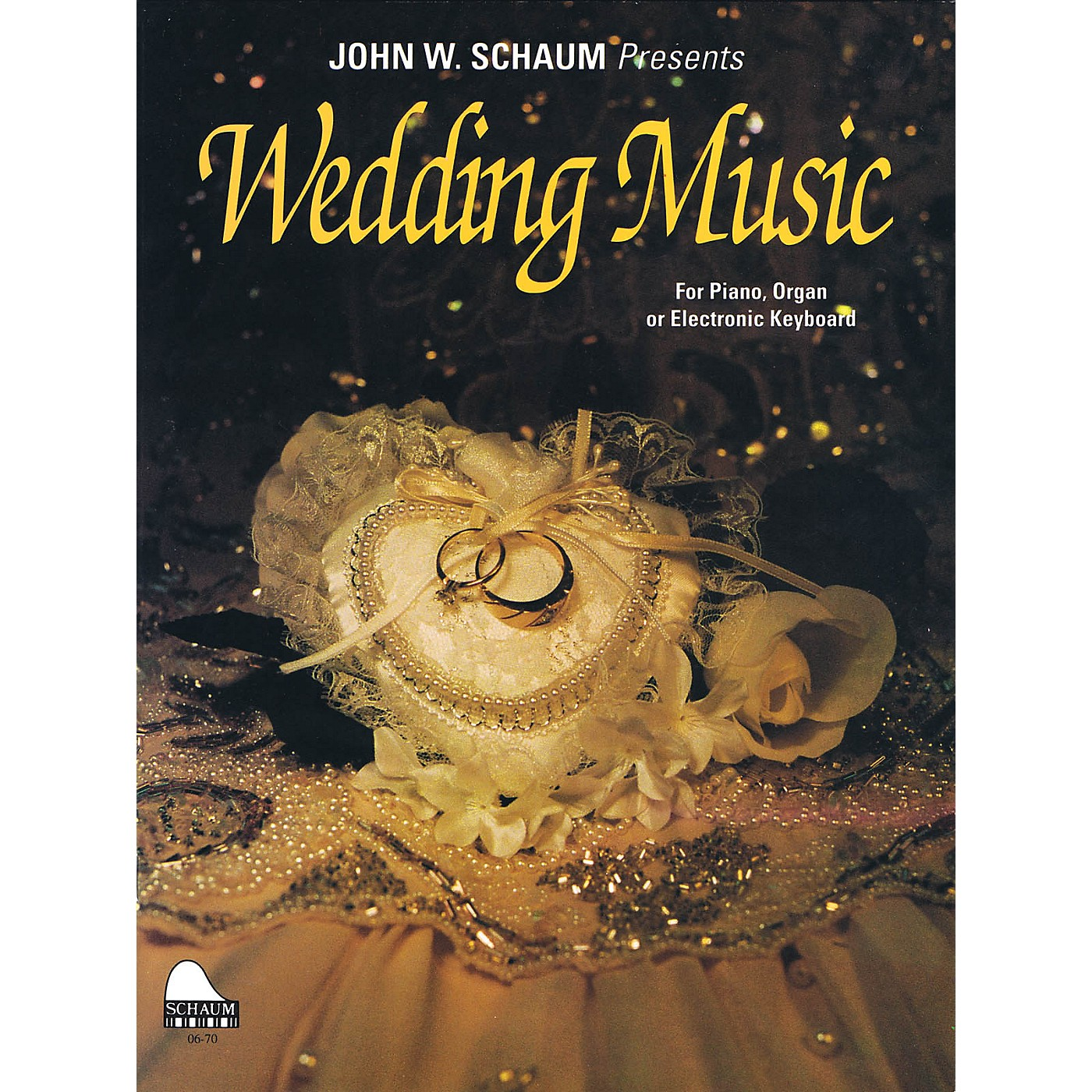 SCHAUM Wedding Music Educational Piano Series Softcover thumbnail