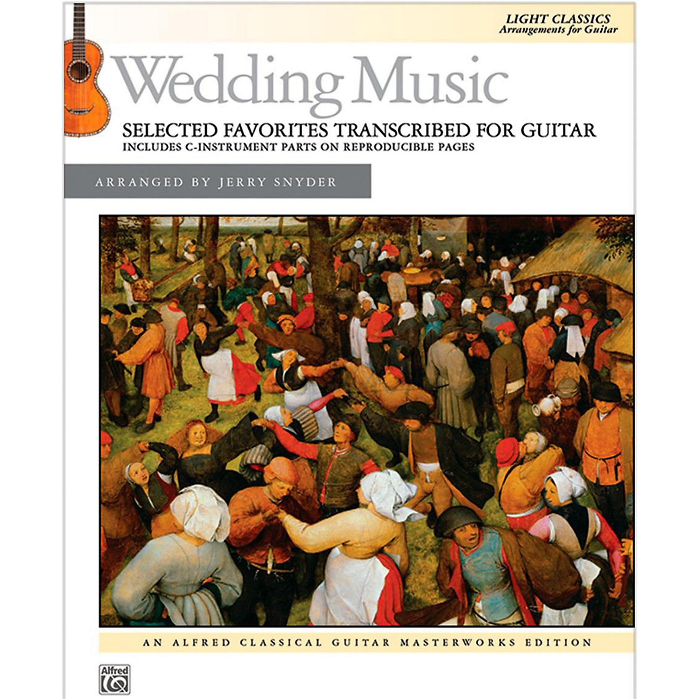 Alfred Wedding Music Selected Favorites Transcribed for Guitar Book thumbnail
