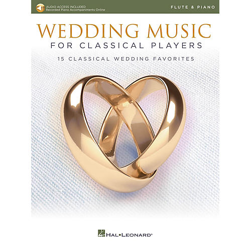 Hal Leonard Wedding Music for Classical Players - Flute and Piano Book/Audio Online thumbnail